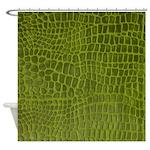 Alligator Skin Shower Curtain