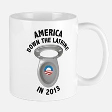 America Down The Latrine in 2013 Mug
