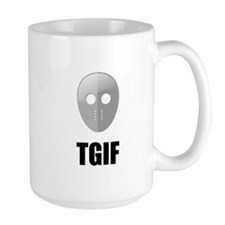 TGIF Jason Hockey Mask Coffee Mug