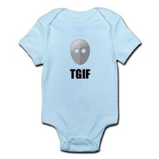 TGIF Jason Hockey Mask Infant Bodysuit