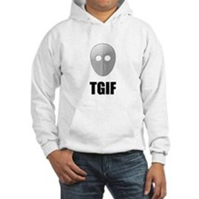TGIF Jason Hockey Mask Hoodie Sweatshirt