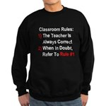 Classroom Rules Sweatshirt (dark)