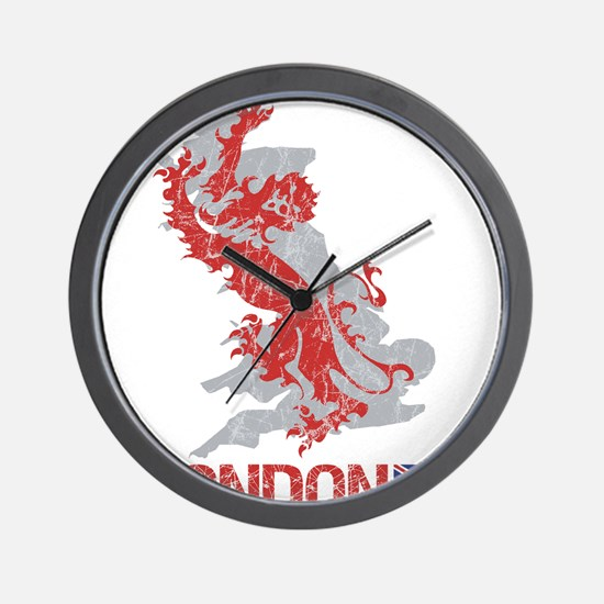 London Lion Wall Clock