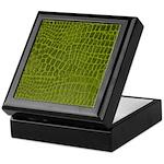 Alligator Skin Keepsake Box