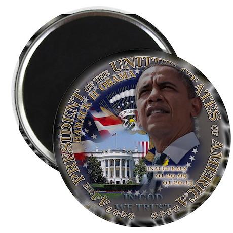 Obama Re-elected Magnet