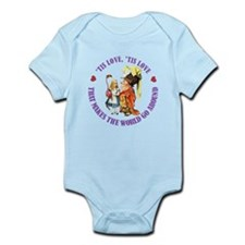 Love Makes the World Go Around Infant Bodysuit