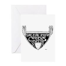 Hoc Est Enim Corpus Meum Greeting Card