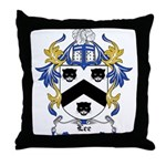 Lee Coat of Arms Throw Pillow