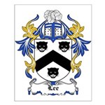 Lee Coat of Arms Small Poster