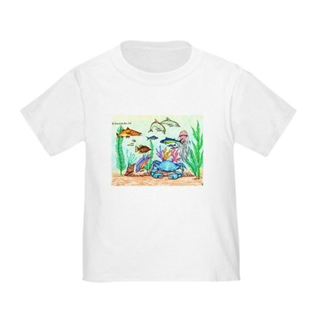 """The """"Beneath The Sea"""", Original Drawing Toddler T-"""