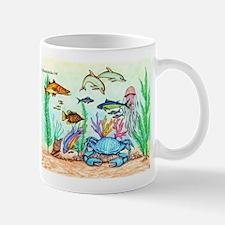 "The ""Beneath The Sea"", Original Drawing Mug"