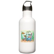 "The ""Beneath The Sea"", Original Drawing Water Bottle"