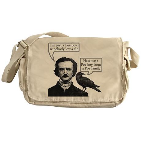 Poe Boy Messenger Bag