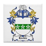 Leckie Coat of Arms Tile Coaster