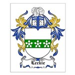 Leckie Coat of Arms Small Poster