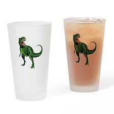 Tyrannosaurus Drinking Glass