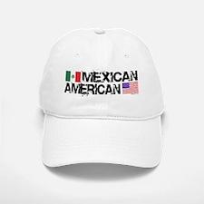 Mexican American Baseball Baseball Cap