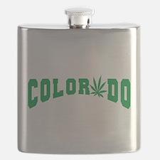 Colorado Cannabis Flask