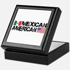 Mexican American Keepsake Box