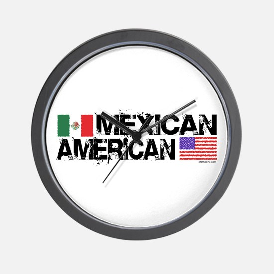 Mexican American Wall Clock