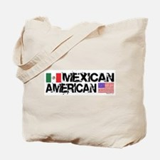 Mexican American Tote Bag