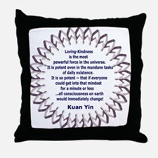 KUAN YINS POWER OF LOVING-KINDNESS POEM Throw Pill