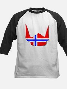 Norway Norse Helmet Flag Design Tee