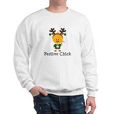 Festive Chick Sweatshirt