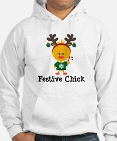 Festive Chick Hoodie