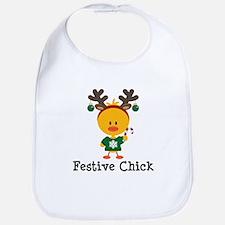 Festive Chick Bib
