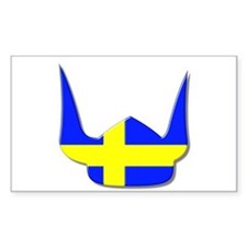 Sweden Swedish Helmet Flag Design Decal
