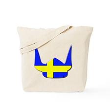 Sweden Swedish Helmet Flag Design Tote Bag