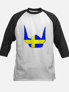Sweden Swedish Helmet Flag Design Tee