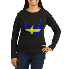 Sweden Swedish Helmet Flag Design T-Shirt