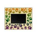 Colorful Cougar Tracks Picture Frame