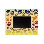 Cougar Tracks Colorful Picture Frame