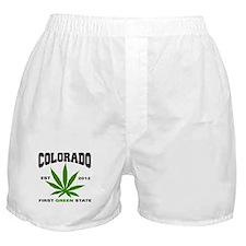 Colorado Cannabis 2012 Boxer Shorts