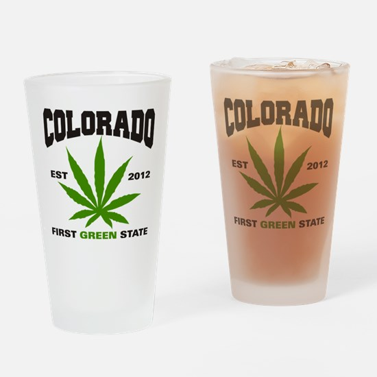 Colorado Cannabis 2012 Drinking Glass
