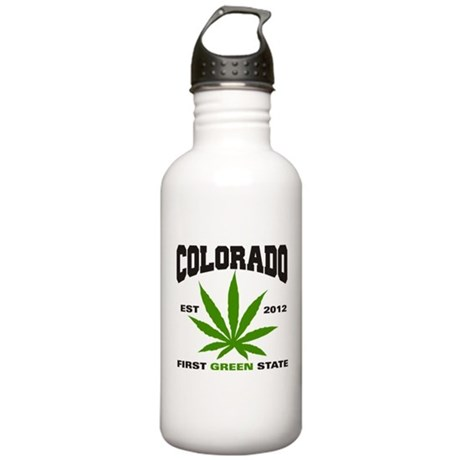 Colorado Cannabis 2012 Stainless Water Bottle 1.0L