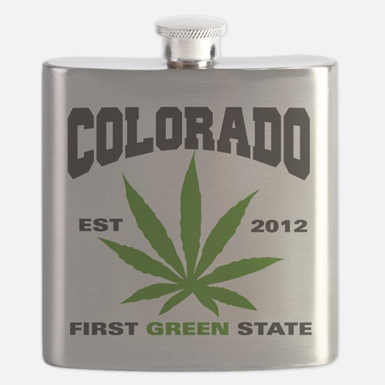 Colorado Cannabis 2012 Flask