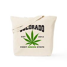 Colorado Cannabis 2012 Tote Bag