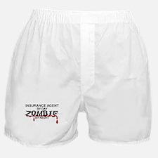 Insurance Agent Zombie Boxer Shorts