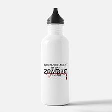 Insurance Agent Zombie Water Bottle