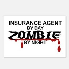 Insurance Agent Zombie Postcards (Package of 8)