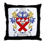Lavington Coat of Arms Throw Pillow