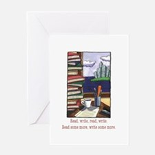 Read Write Greeting Card