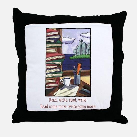 Read Write Throw Pillow