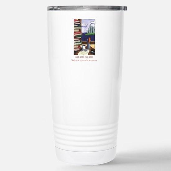 Read Write Stainless Steel Travel Mug