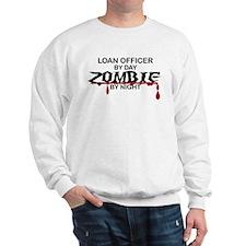 Loan Officer Zombie Sweatshirt