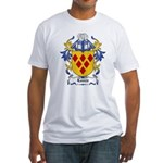 Laven Coat of Arms, Family Cr Fitted T-Shirt